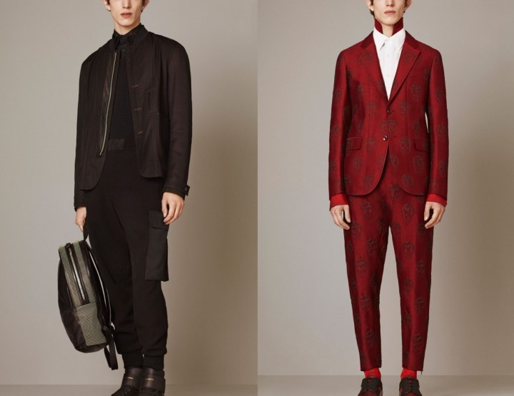 Alexander McQueen, für Ihn, Pre Fall/Winter 15 - Fashion News 2015