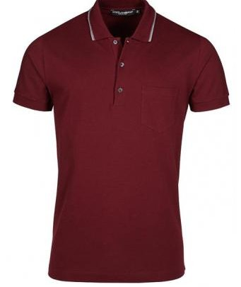 Menswear: Classic Polo Shirt by Dolce & Gabbana