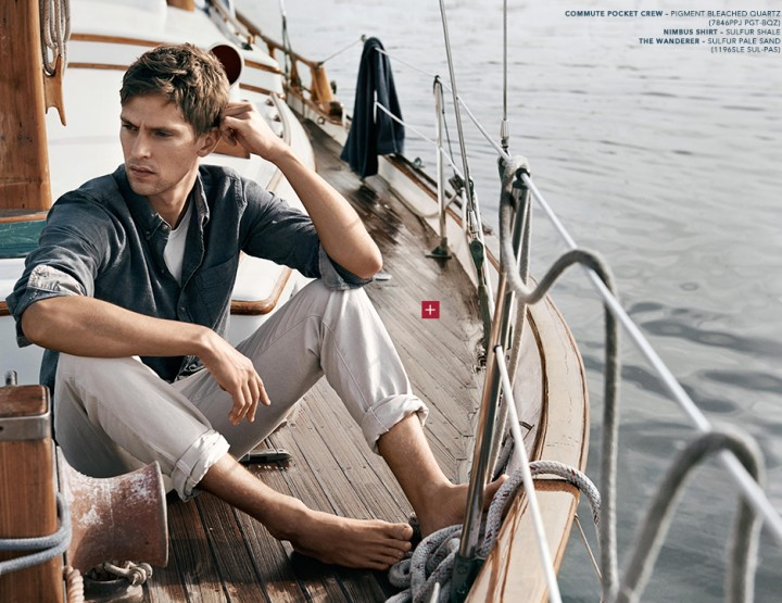 Adriano Goldschmied – denim fashion for wild sailing adventures
