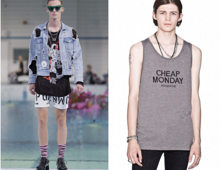 Fancy, fancier, Cheap Monday Menswear!
