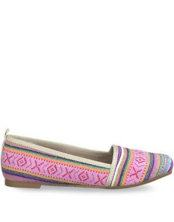 Bunte Sommer Slipper rose by Tamaris