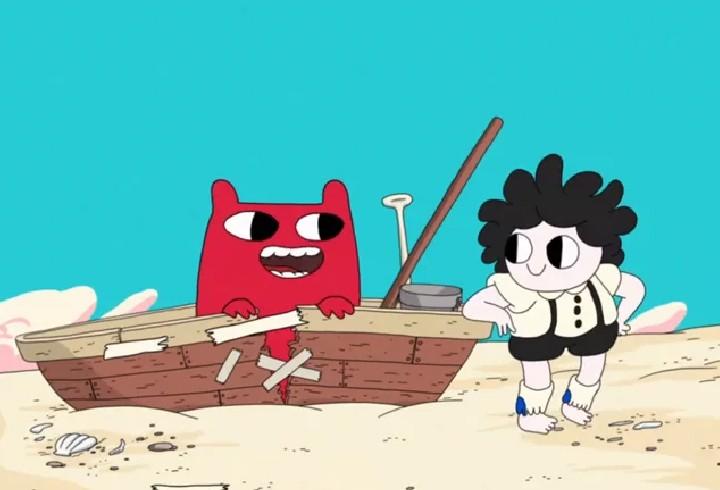 Kunst im Fokus: Tonks Island…verrückter Minifilm mit Adventure Time Attitüde