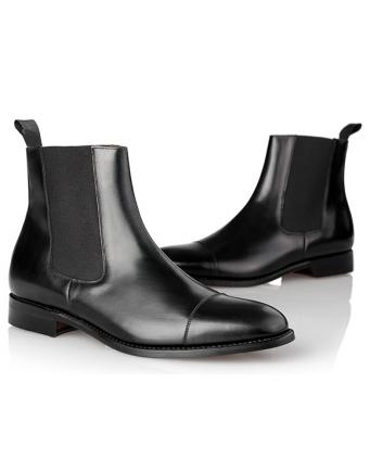 Menswear: Chelsea Boots black leader