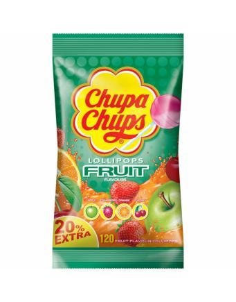 Chupa Chups Lollies Fruit - 120er Nachfüllbeutel
