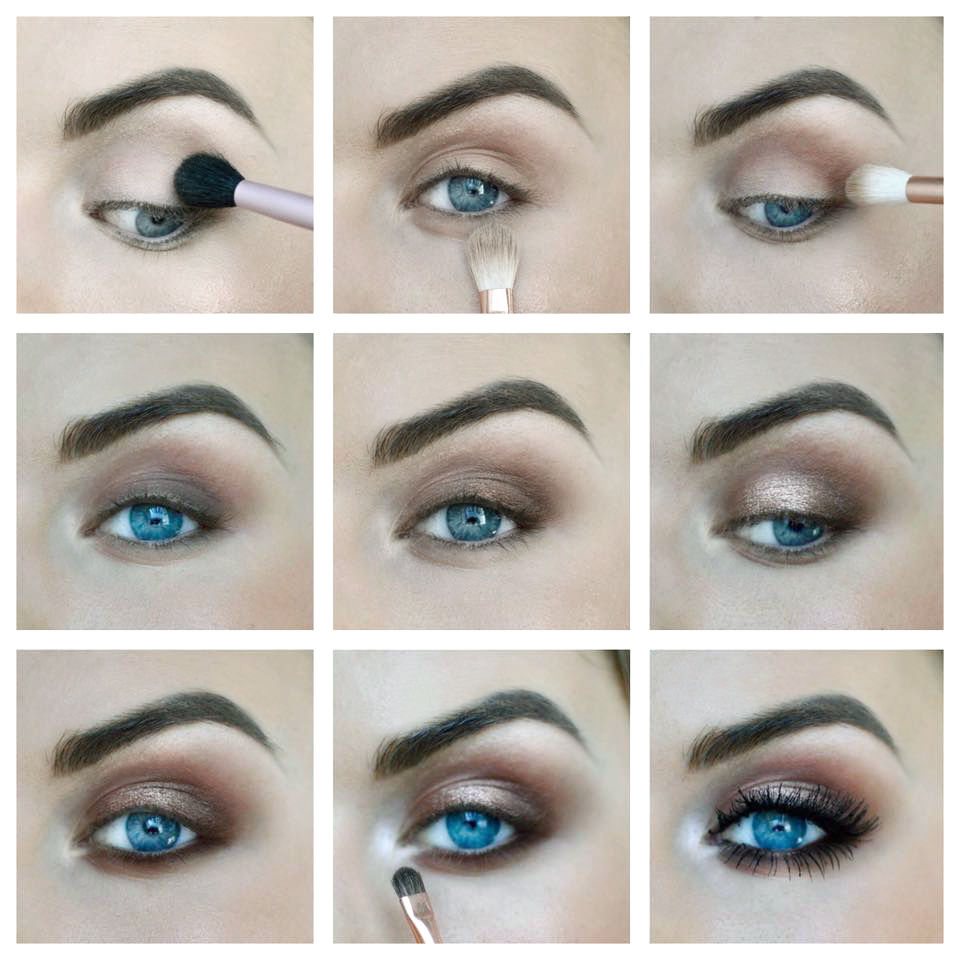 eye tutorial glamorous warm smokey eye read the trieb. Black Bedroom Furniture Sets. Home Design Ideas