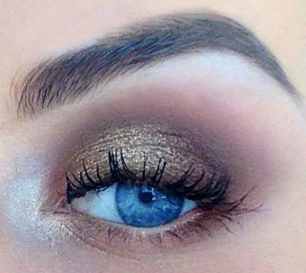 Eye Tutorial: Golden Goddess Makeup