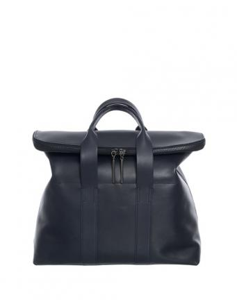 Leather bag navy by Phillip Lim