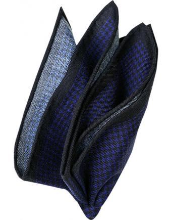 dunkelblaues Einstecktuch by Olymp