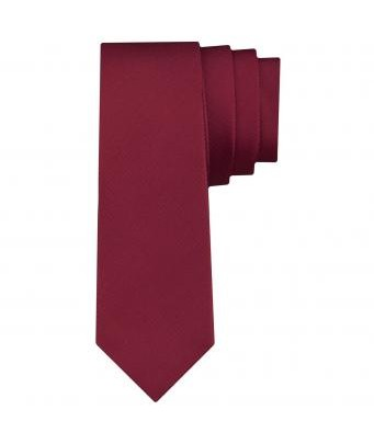 Dark Red Tie by Seidensticker