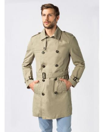 Menswear: Trench-Coat in Beige