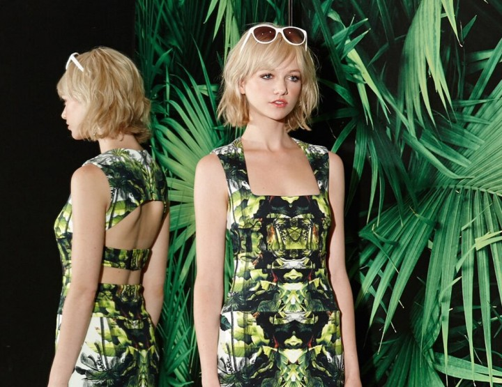 Nicole Miller - džunglipalavik