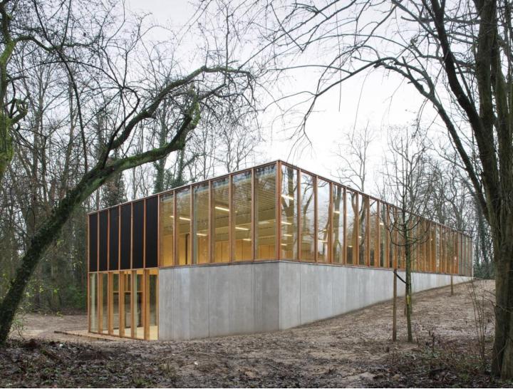 Sporthalle - Ein Architektentraum