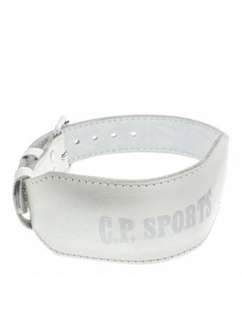 Lady Gürtel in weiß by CP Sports