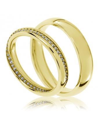 333 kollase kullapaari abielusõrmust, autor Trauringe Kaarst