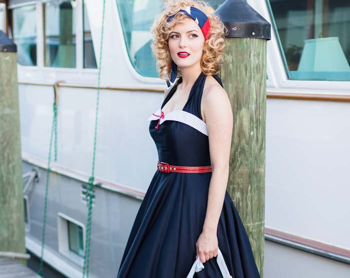 Nautical Style Fashion by Blue Velvet