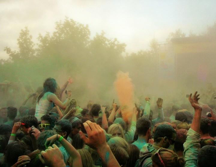 Holi - das Fest der Farben