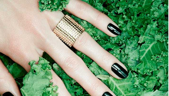 Kale Nail Polish for nails which survive even the hardest workout