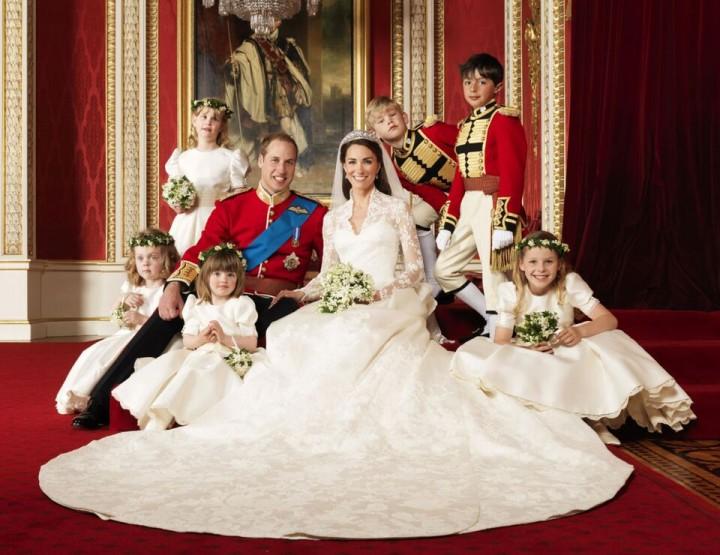 Königliche Hochzeitskleider