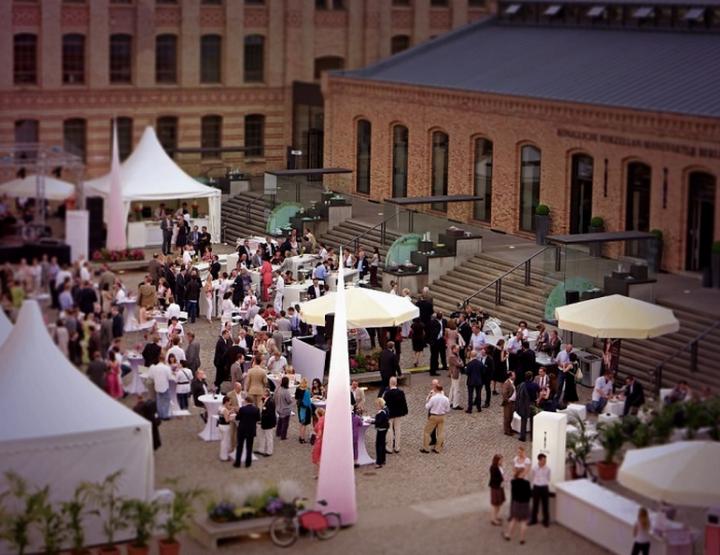 Hoffest der Königlichen Porzellan-Manufaktur Berlin