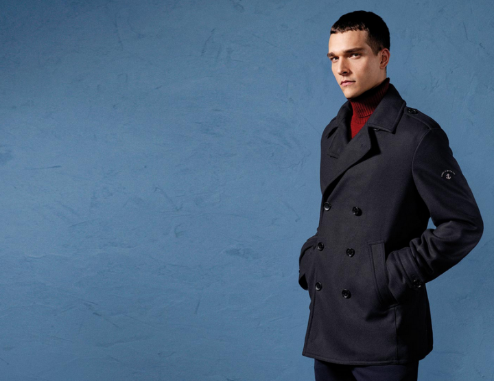Paul & Shark – Navy Pea Coat