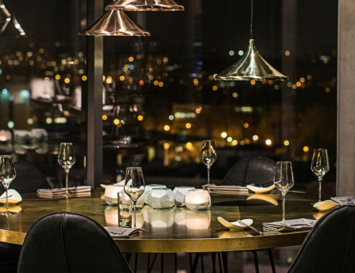Skykitchen – enjoy a dinner high above Berlin