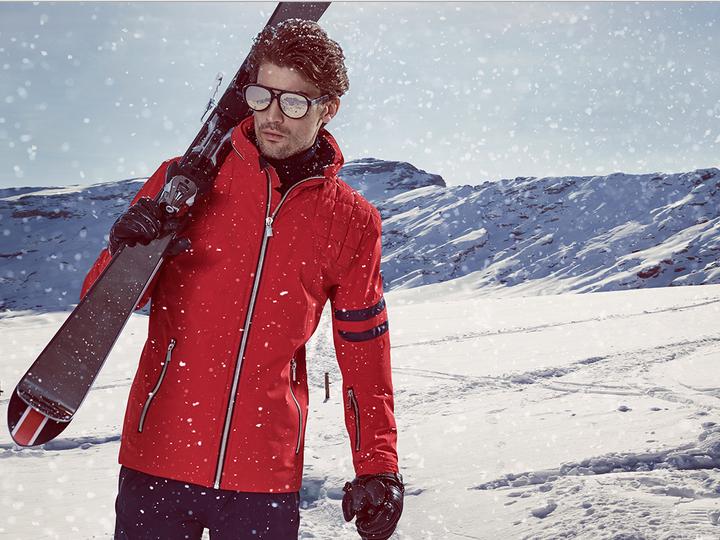Edle Ski-Mode von Toni Sailer