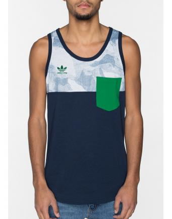 Menswear: Tanktop ADV Collegiate Navy by Adidas