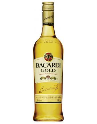 Spirituosen: Rum - Barcardi Gold