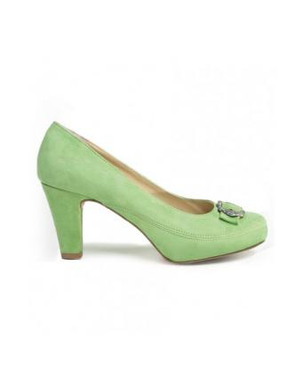 Tracht Shoes in green by Stockerpoint