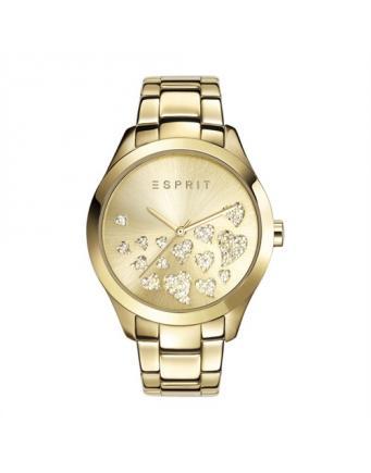 Esmee Uhr aus vergoldetem Edelstahl by Esprit