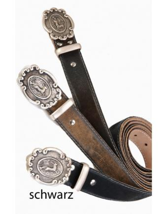 Tracht belt made of 100% Leather by Stockerpoint