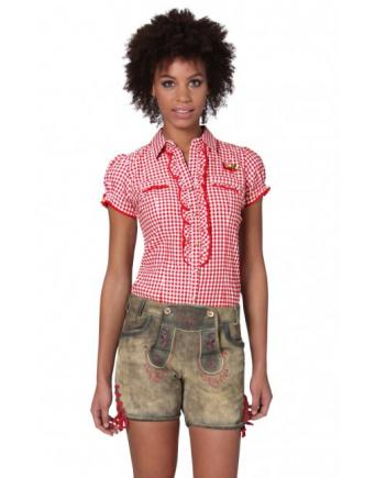 Women's Tracht Shorts with red Applications