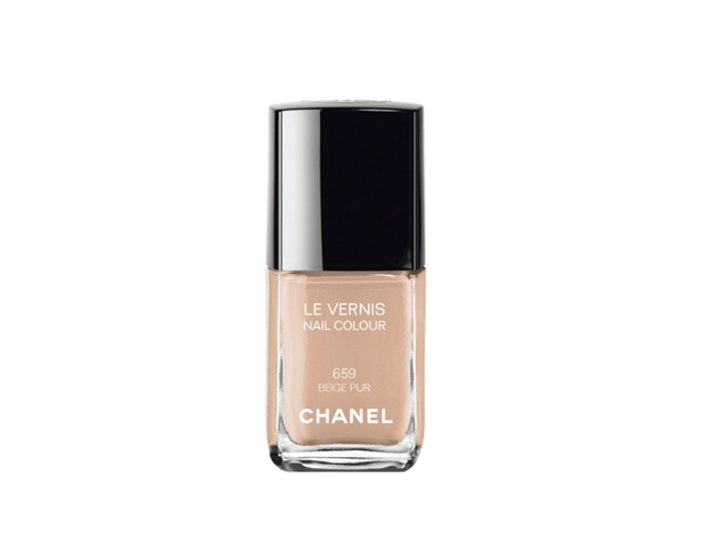 Chanel's Duo Manicure, spotted at the Paris Haute Couture Fashion Week