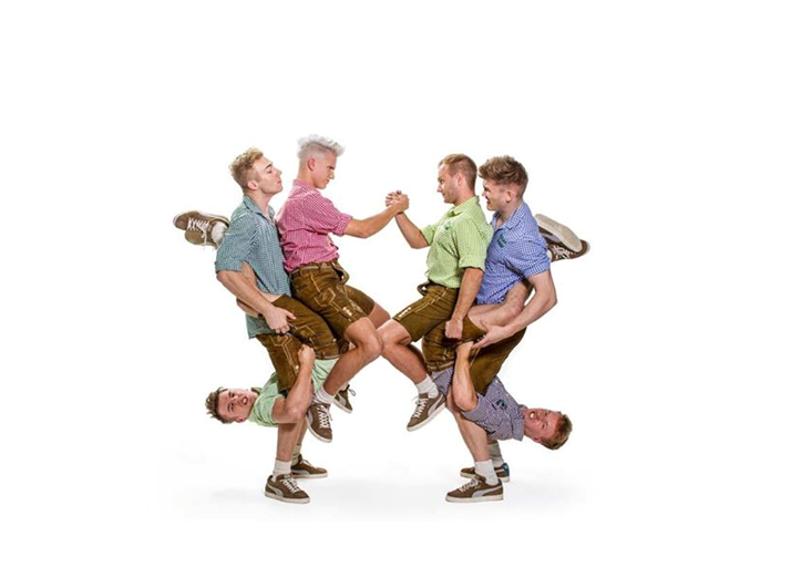 Breakdance in Lederhosen