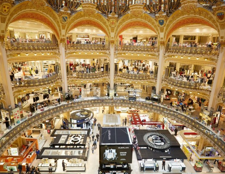 Luxuriöses Shopping – Galeries Lafayette Paris