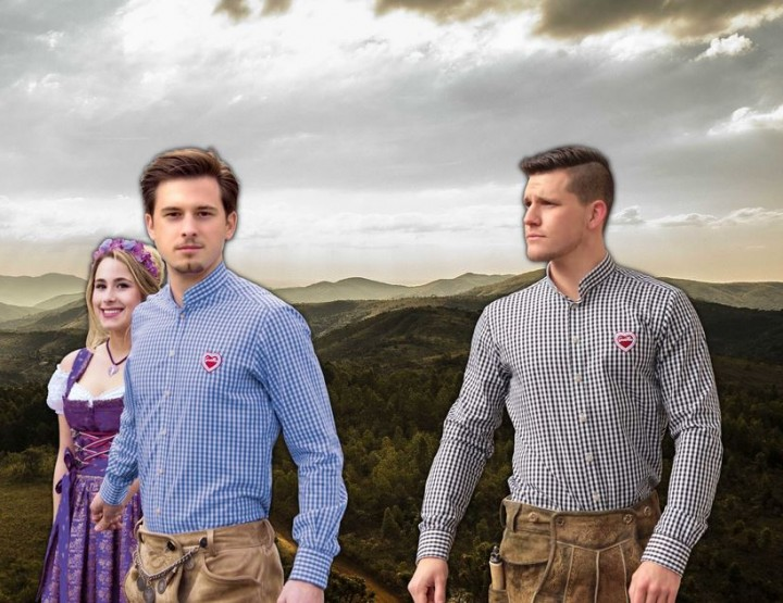 Unique Traditional Bavarian Shirts by Gaudiherz