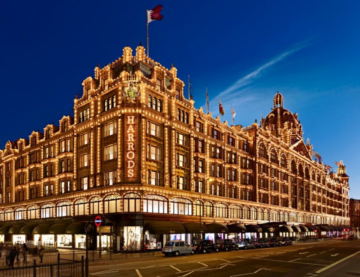 Luxuriöses Shopping – Harrods London