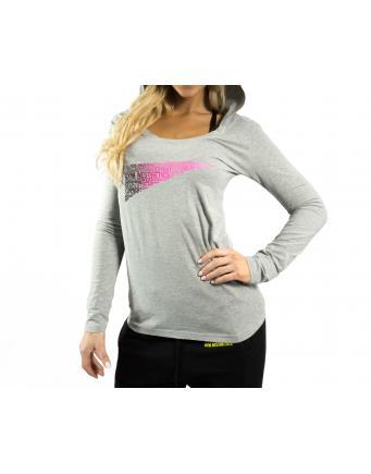 Damen Longsleeve Trainingsshirt in Grau by GA