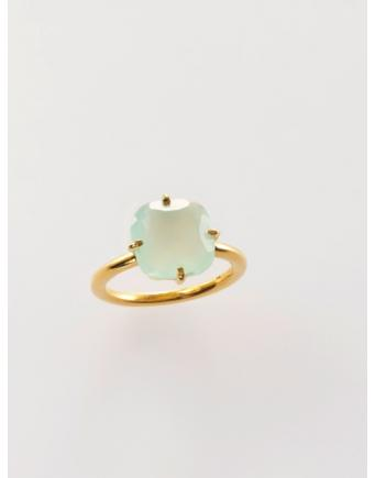 Vergoldeter 925er Silber Ring by Miaki