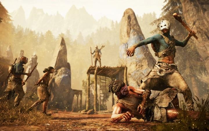 In einem Videospiel vor unserer Zeit