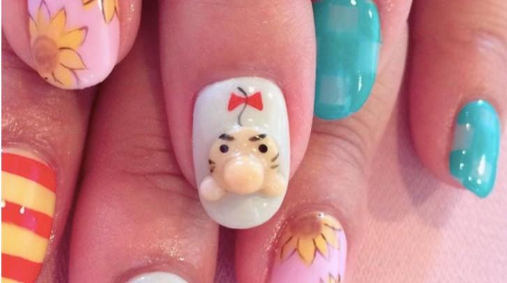 Verrückt, verrückter, Japan – 3D Anime Nail Art