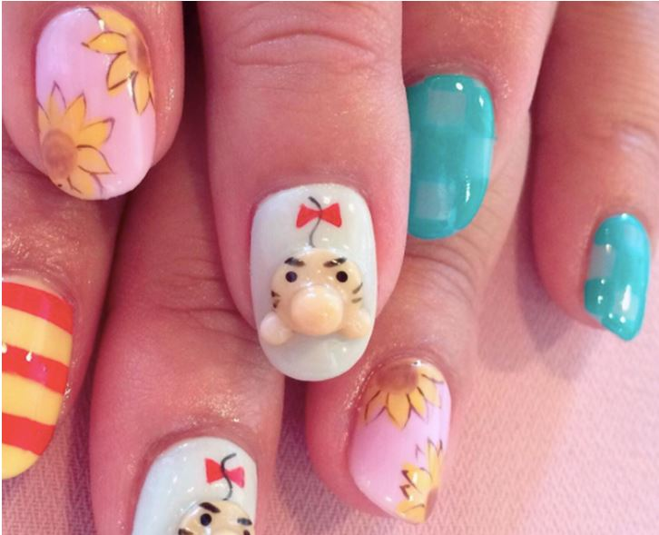 Japanisches 3d anime nail art read the trieb there is a whole culture revolving around nail art in japan today including amazing 3d nail designs this is why i would like to show you three fascinating prinsesfo Gallery