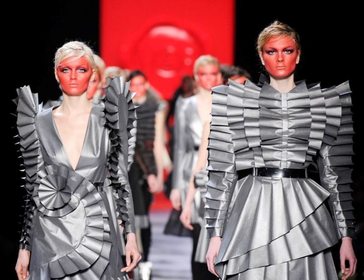 Origami – Spektakuläre Faltkunst auf Textil