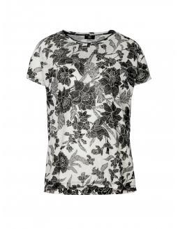 Shirt mit romantischem Blumenmuster by Bogner