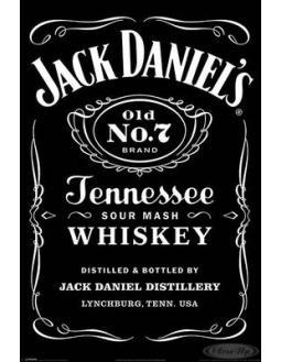 Jack Daniels Poster Vintage Look