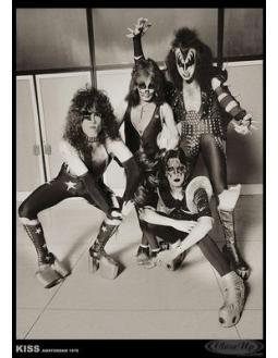 Kiss Poster Amsterdam von 1976