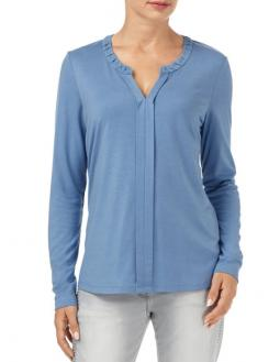 Blouse shirt in blue by Gerry Weber