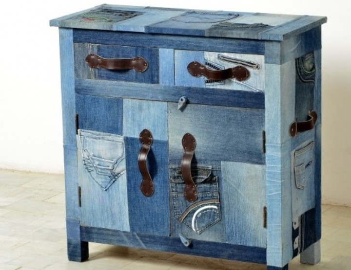 Eye-catcher fatta di denim da Sit