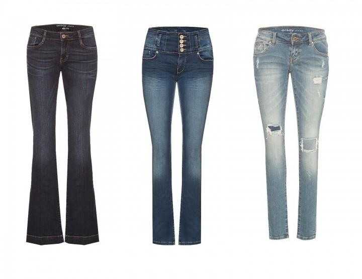Orsay Jeans hat für jeden Geschmack etwas