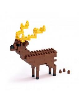 Rentier 3D-Puzzle by Nanoblock
